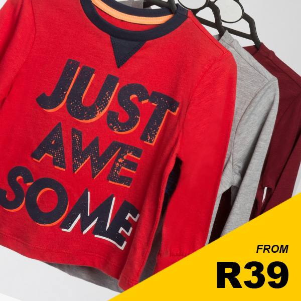 Infant Boys Awesome Tops