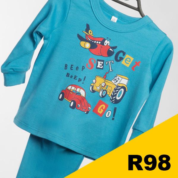 Infant Boys Pajamas Set 2 Go