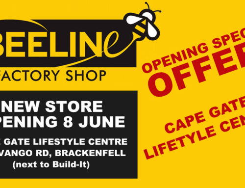 New Store Opening 8 June – Cape Gate Lifestyle Centre