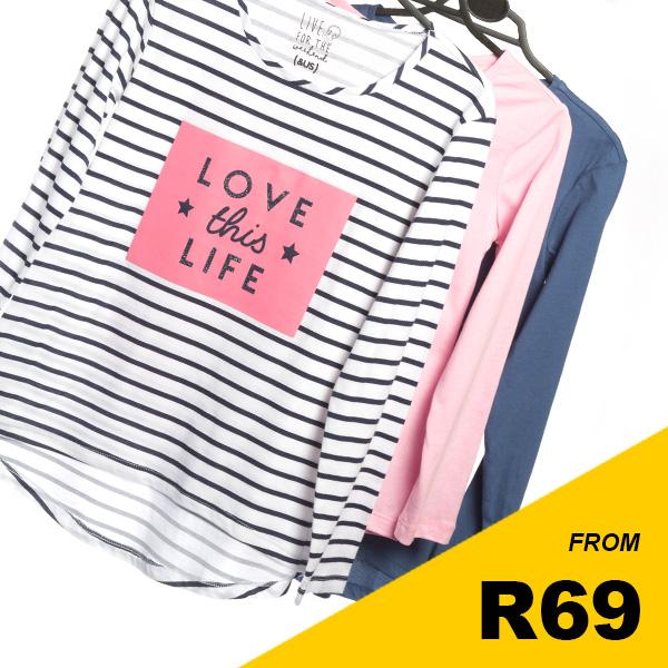 Older Girls - Assorted T-shirts
