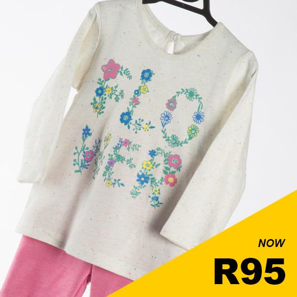 Infant Girls - Flower Set