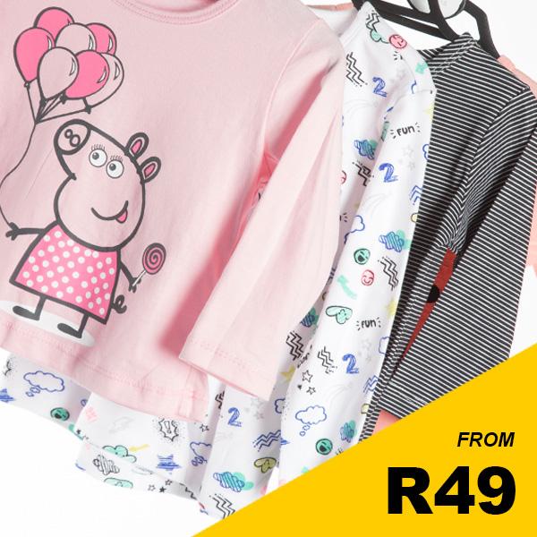 Infant Girls - Short Sleeve Tops