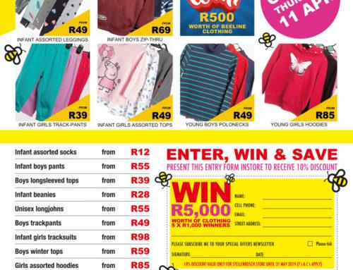 New Stellenbosch Store Opening 11 April