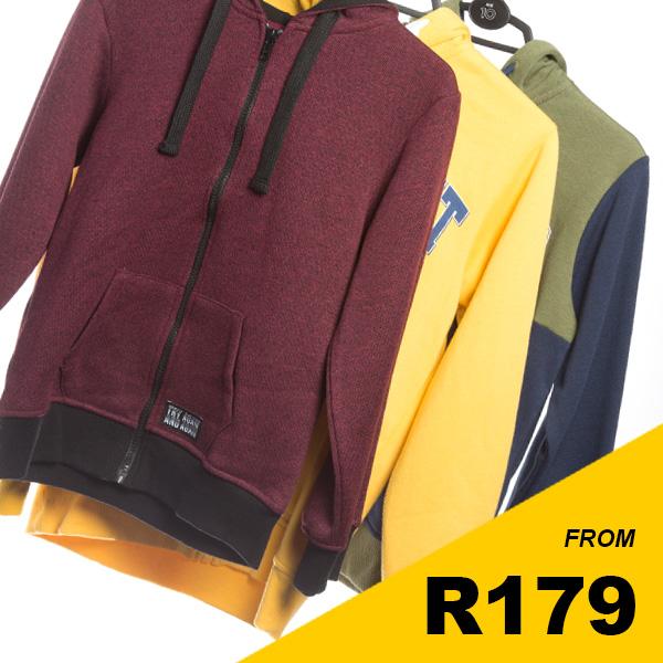 Older Boys - Zip-through hoodies