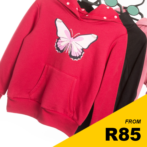 Younger Girls - Assorted Hoodies