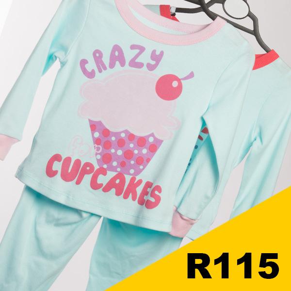 Infant Girls - Cupcakes Pajamas