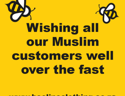 Wishing our Muslim customers well over the fast