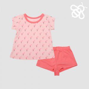 Flamingo Girls PJ
