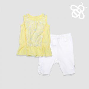 Yellow Bobble Set