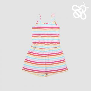 Candy Stripe Shortall