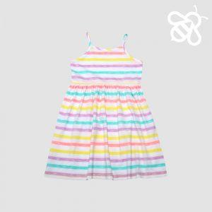 Stripe Strappy Dress