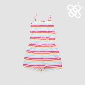 Candy Stripe Shortall