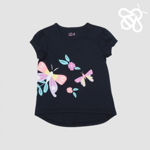 Navy Butterfly Tee